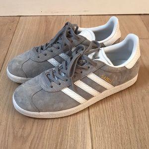 adidas Shoes - Adidas Gazelle Grey VERY POPULAR